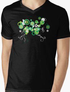 Apple blossom Mens V-Neck T-Shirt