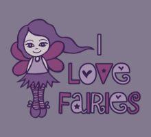 I Love Fairies Kids Clothes