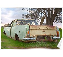 The Old Holden Ute..... Poster