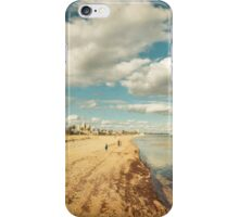 Port Melbourne Beach iPhone Case/Skin