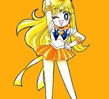 Sailor Venus V for Victory by MimiJoy