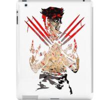 Wolverine Splatter Art iPad Case/Skin