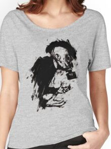 The Lonely Hunter (Ink/Brush Version) Women's Relaxed Fit T-Shirt