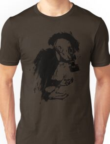 The Lonely Hunter (Ink/Brush Version) Unisex T-Shirt