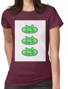 ZentangleFrog Womens Fitted T-Shirt