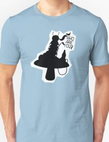 Caterpillar - Who Are You? Ver. 2 (Alice In Wonderland) Unisex T-Shirt