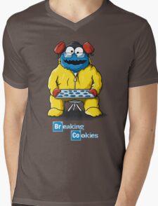 Breaking Cookies Mens V-Neck T-Shirt