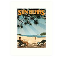 Sun Bears - Kings Beach Art Print
