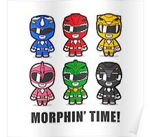 Morphin' Time Poster