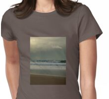 Quiet Reflection Womens Fitted T-Shirt