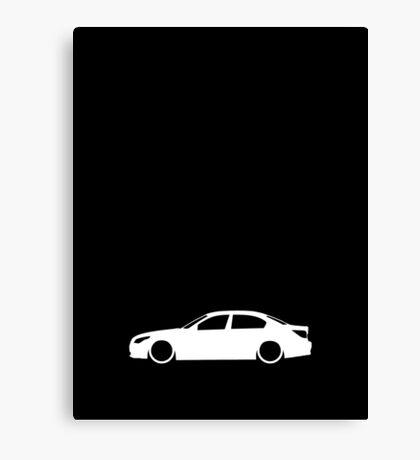 E60 German Luxury Sedan Canvas Print