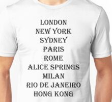Fashion House - Alice Springs Unisex T-Shirt