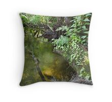 Green and Gold,  Throw Pillow