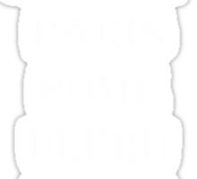 Fashion House - Uluru Sticker