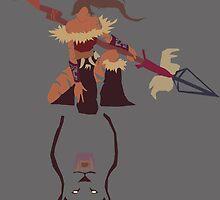 Nidalee   –  the Bestial Huntress by dorkiestman