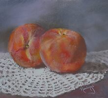 Peach Fuzz by Janet Rawlings