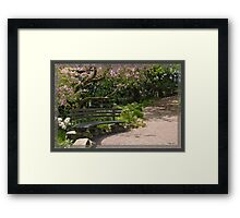 Heavy Metal in the Park Framed Print