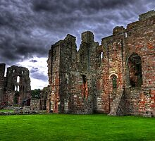 A View of a Once Mighty Priory (HDR) by Ryan Davison Crisp