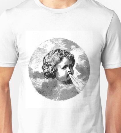 SPEWING CHERUB Unisex T-Shirt