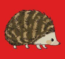 Adorable hedgehog cartoon Kids Tee
