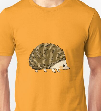 Adorable hedgehog cartoon Unisex T-Shirt