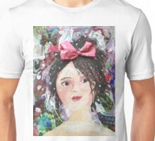 Inner Girly Girl - Bows and Butterflies Unisex T-Shirt