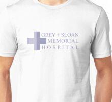 GREY + SLOAN MEMORIAL HOSPITAL - GREY'S ANATOMY Unisex T-Shirt