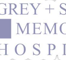 GREY + SLOAN MEMORIAL HOSPITAL - GREY'S ANATOMY Sticker
