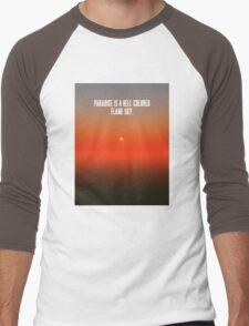 Angels Forever Men's Baseball ¾ T-Shirt
