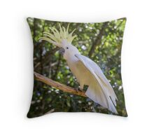 Cockatoo 1 Throw Pillow