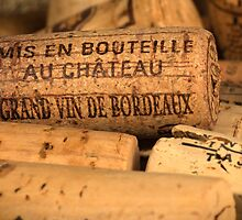 Wine bottle cork from Bordeaux by DavidMay
