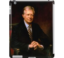 President Jimmy Carter Painting iPad Case/Skin
