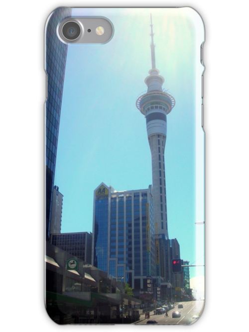 Auckland Skytower by jezkemp