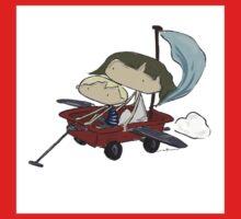 Flight wagon Baby Tee