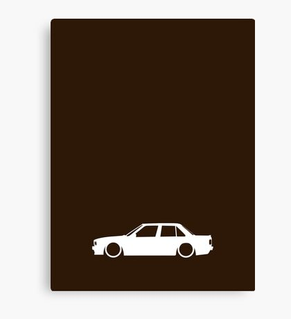 E30 German sedan Canvas Print