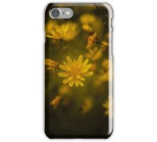 Yellow summer flowers iPhone Case/Skin