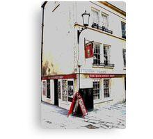 Bath Sweet Shop Canvas Print