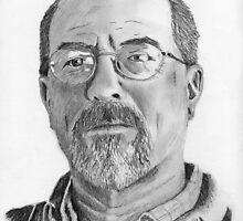 A Self Portrait in Graphite by pdsimonson