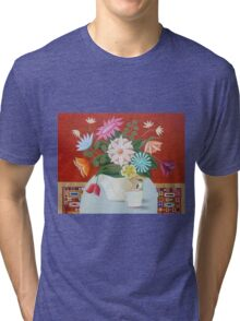 Morning Visitor Tri-blend T-Shirt