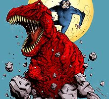 Devil Dinosaur by SirG