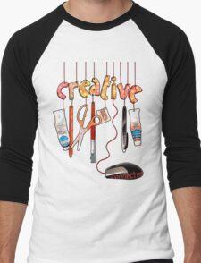 Connected Creative Men's Baseball ¾ T-Shirt
