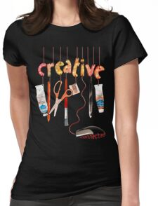 Connected Creative Womens Fitted T-Shirt