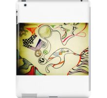 Lines and Colours iPad Case/Skin