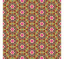 Colourful Geometric Pattern Photographic Print
