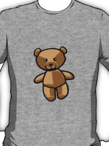 Cute brown teddy bear toy doll T-Shirt