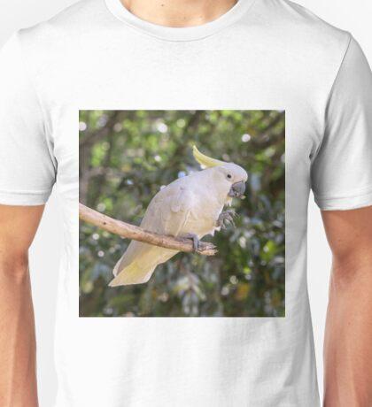 Cockatoo snacking Unisex T-Shirt