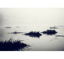 Fog over the river Photographic Print