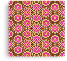 Colourful Geometric Pattern 02 Canvas Print