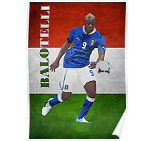 BALOTELLI-ITALIA Poster
