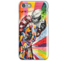 Times Square Kiss in Chelsea iPhone Case/Skin